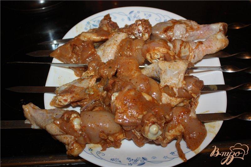 Фото приготовление рецепта: Маринованая курица шаг №6