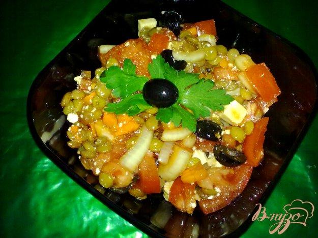 фото рецепта: Салат с чечевицей