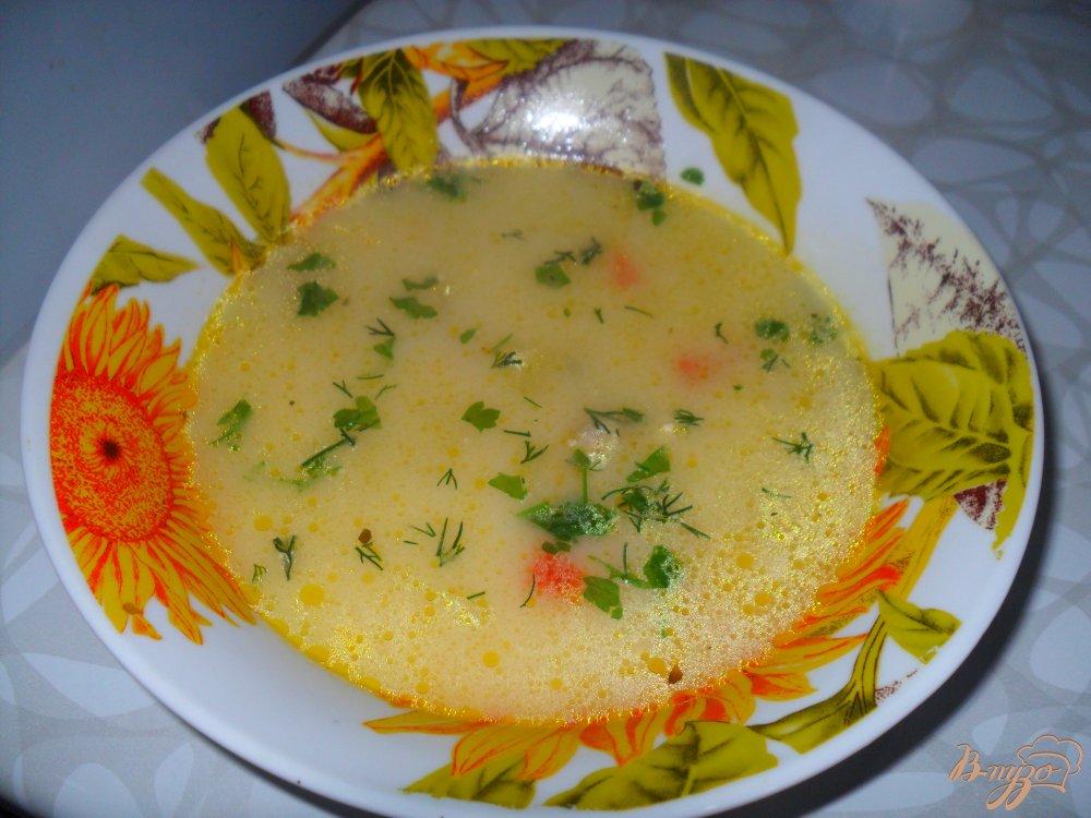 Фото приготовление рецепта: Сырный суп по-французки шаг №5