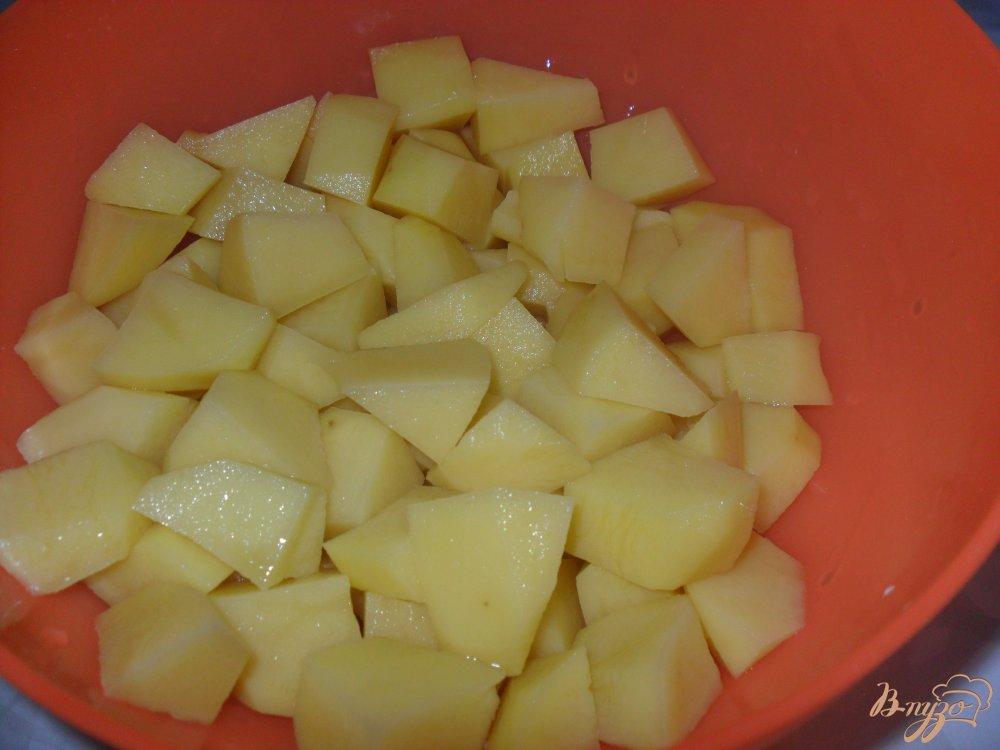 Фото приготовление рецепта: Сырный суп по-французки шаг №2