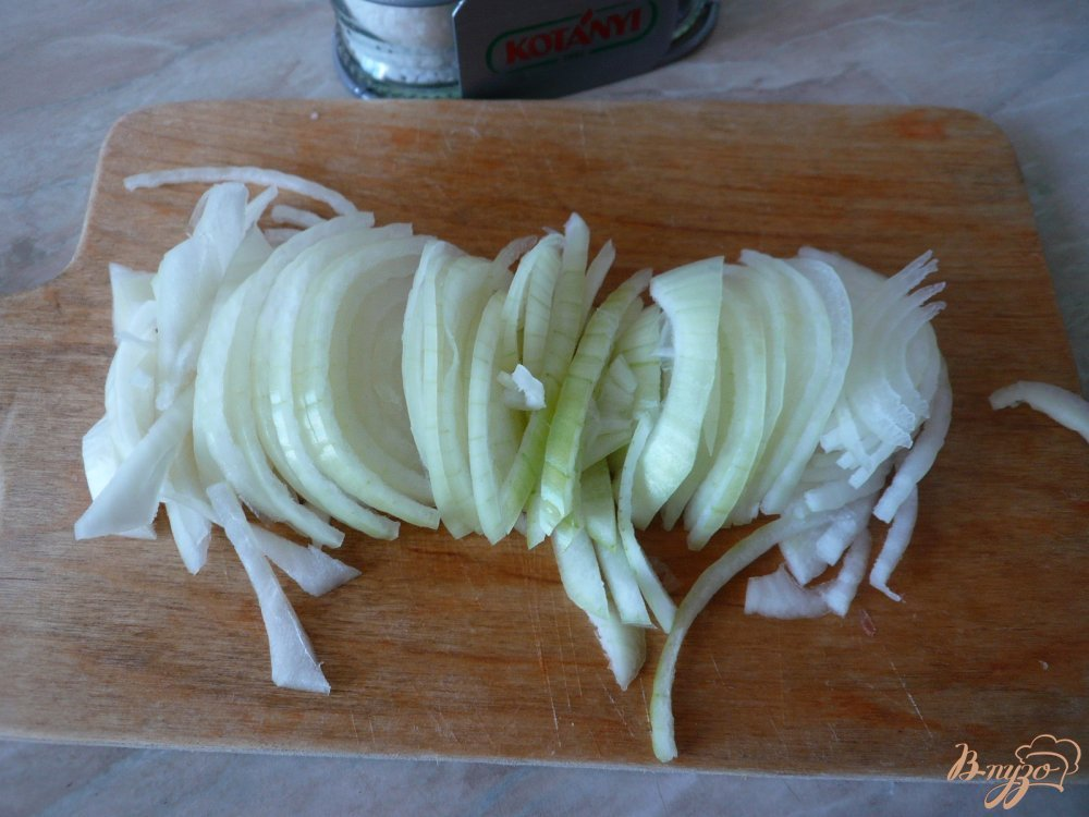 Фото приготовление рецепта: Свинина запеченная с картофелем шаг №3