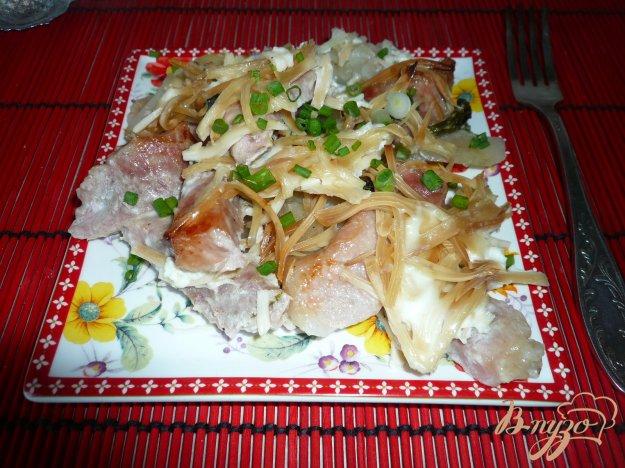 фото рецепта: Свинина запеченная с картофелем
