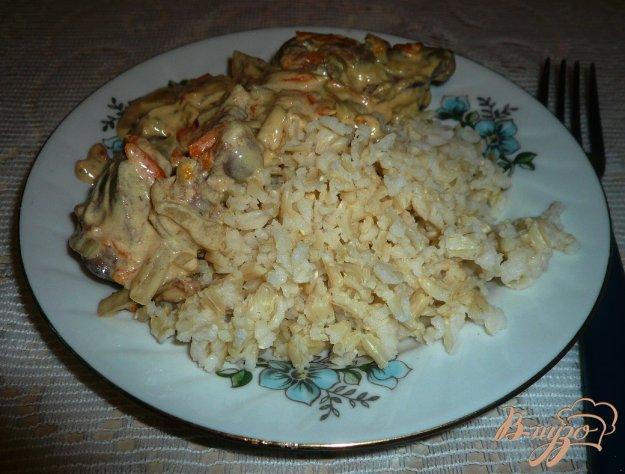 фото рецепта: Бурый рис в мультиварке