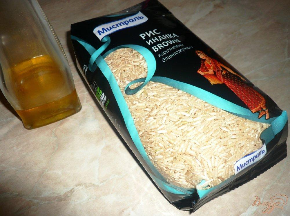 Фото приготовление рецепта: Бурый рис в мультиварке шаг №1