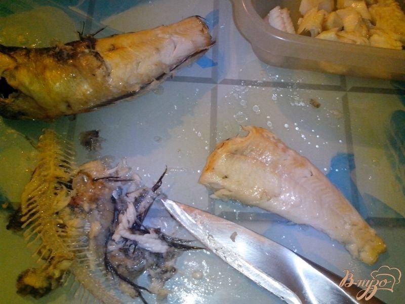 Фото приготовление рецепта: Рыбная фантазия из нототении шаг №2