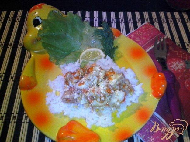 фото рецепта: Рыбная фантазия из нототении