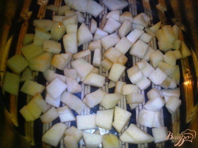 Фото приготовление рецепта: Пирог с маком и яблоком шаг №3