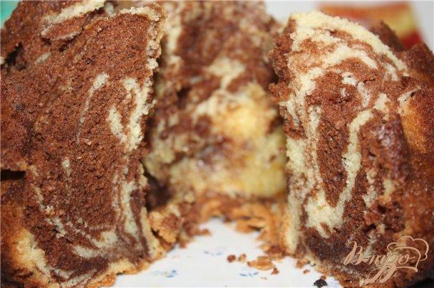 фото рецепта: Двухцветный пирог