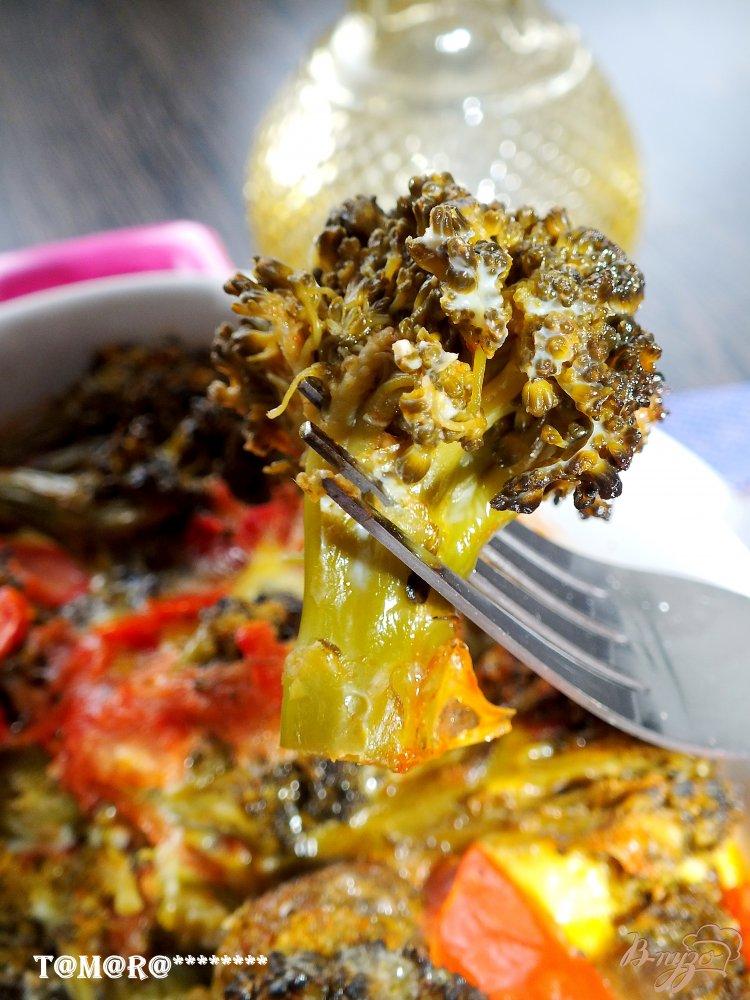 Фото приготовление рецепта: Запеканка с брокколи шаг №3