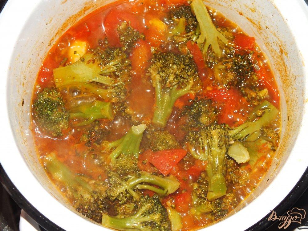 Фото приготовление рецепта: Запеканка с брокколи шаг №2