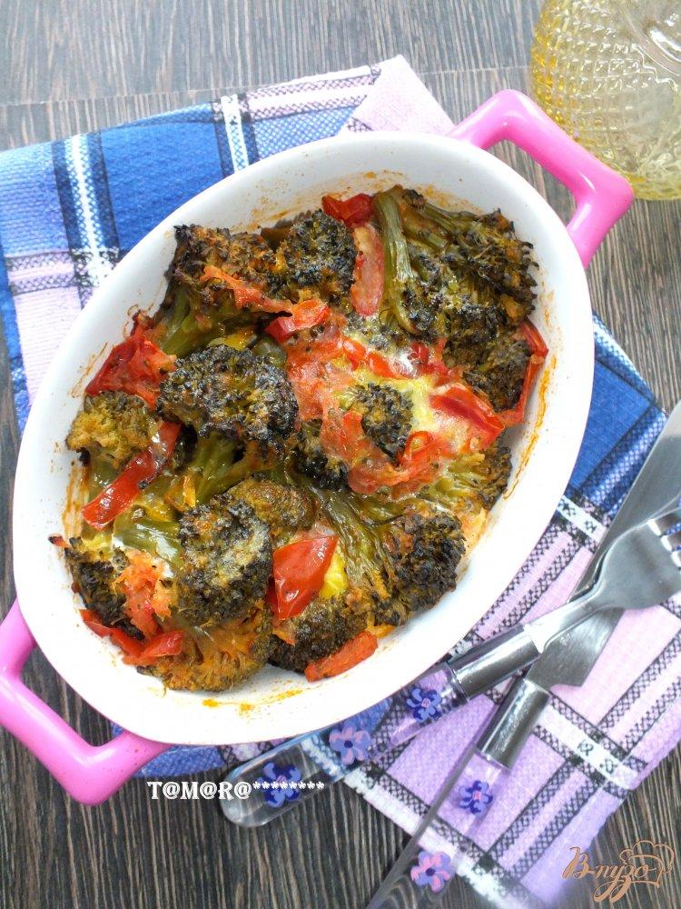 Фото приготовление рецепта: Запеканка с брокколи шаг №4