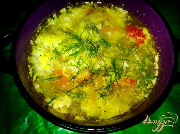 фото рецепта: Суп с яйцом