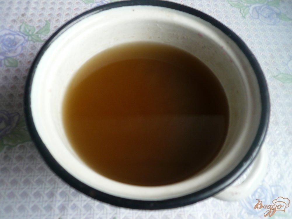 Фото приготовление рецепта: Домашний мятный сироп шаг №4