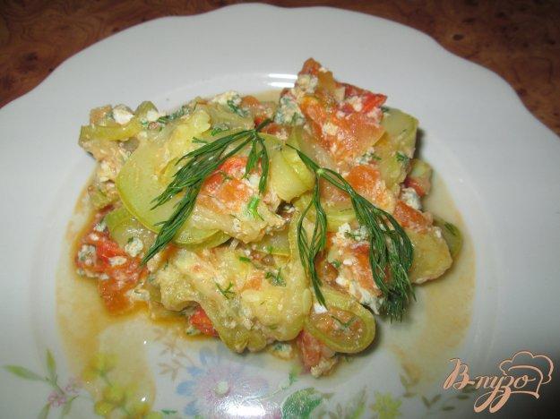 фото рецепта: Кабачки с яйцом