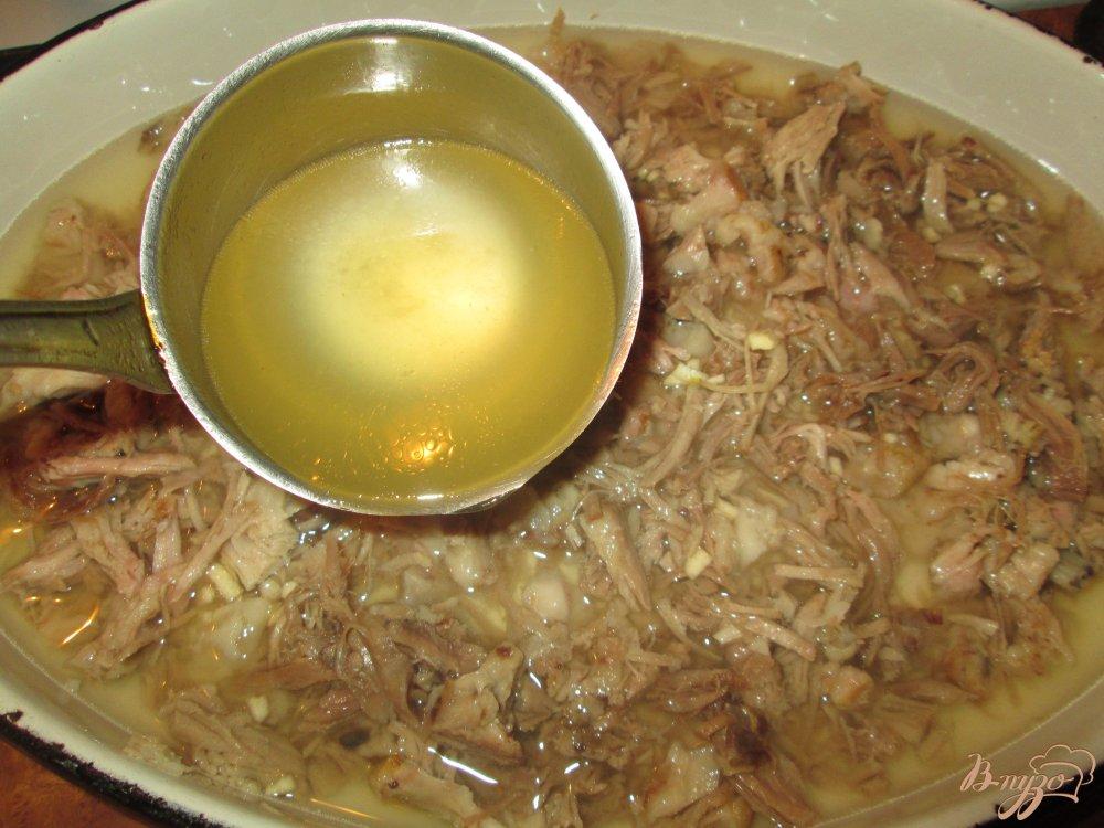 Фото приготовление рецепта: Холодец домашний шаг №7