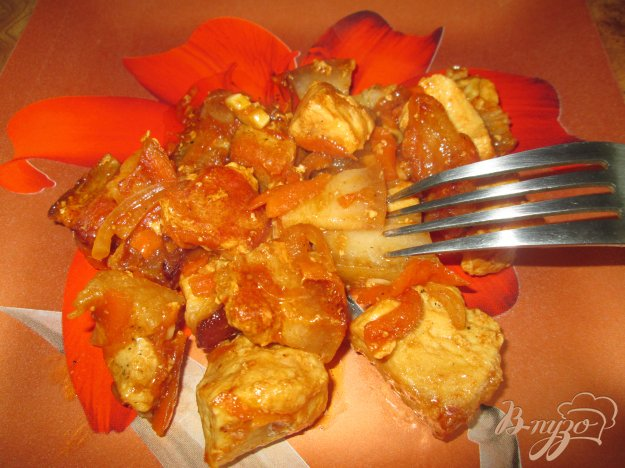 фото рецепта: Свинина в соевом соусе по-восточному