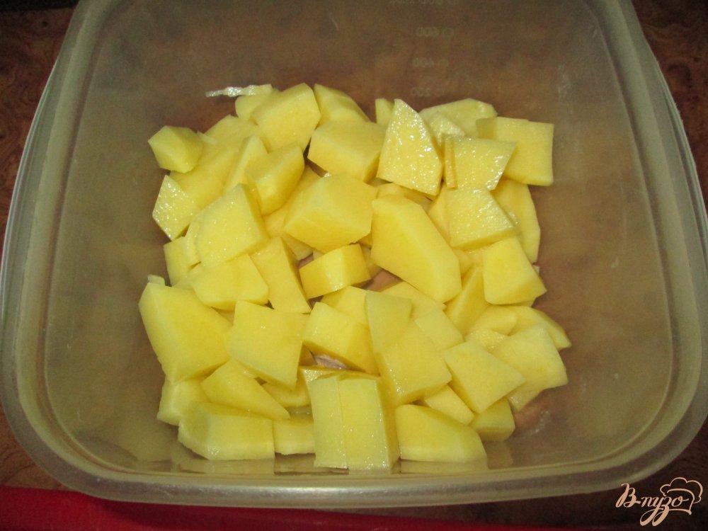 Фото приготовление рецепта: Самый вкусный борщ на сале шаг №8