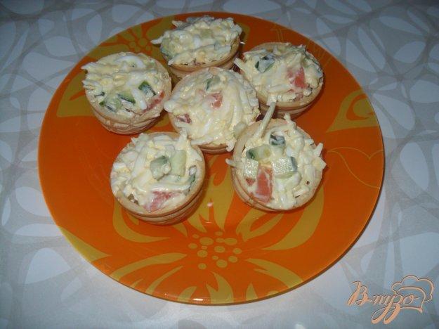 фото рецепта: Тарталетки закусочные