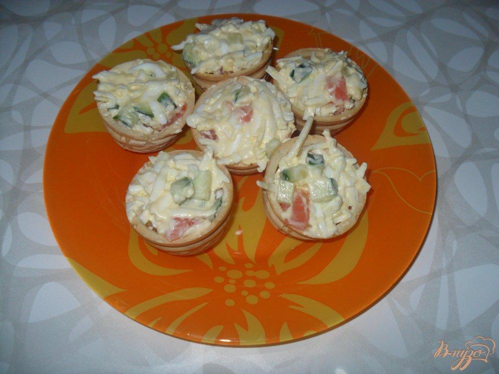 Фото приготовление рецепта: Тарталетки закусочные шаг №6