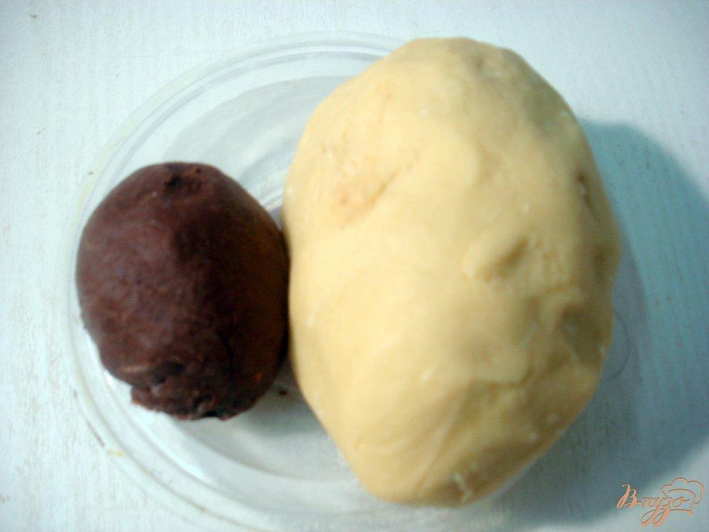 Фото приготовление рецепта: Печенье  овечки шаг №7