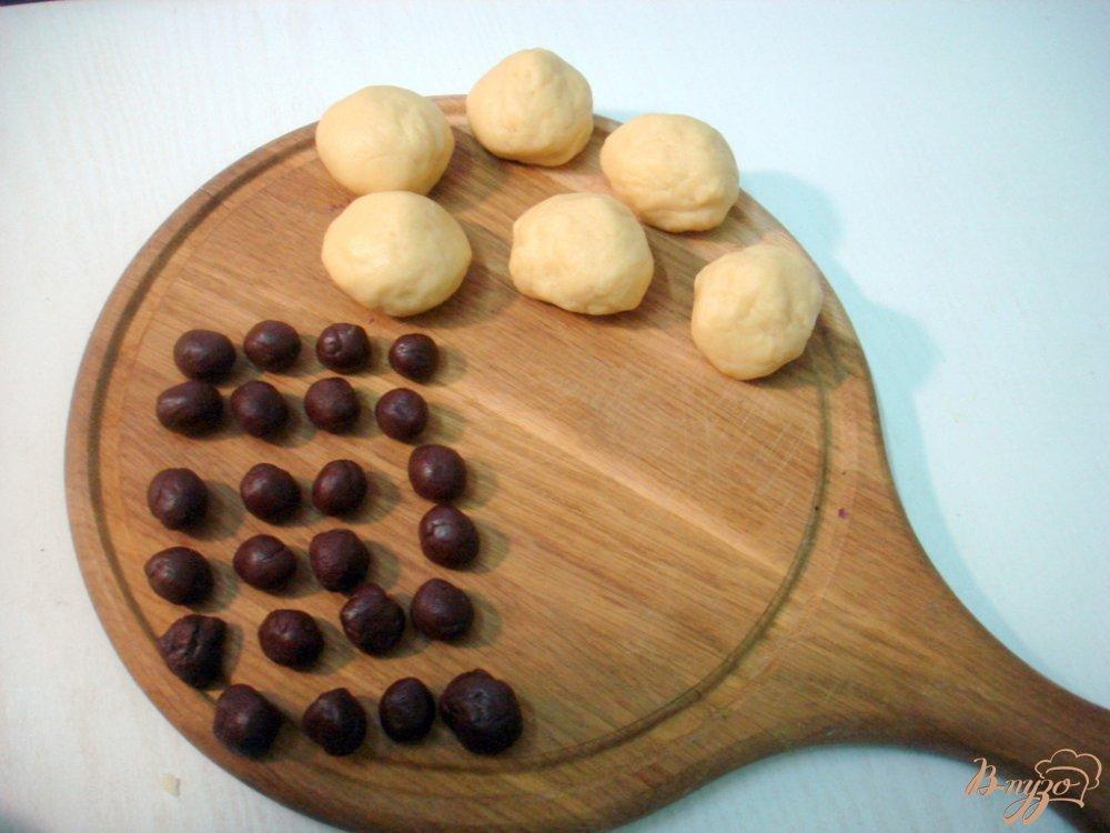 Фото приготовление рецепта: Печенье  овечки шаг №8