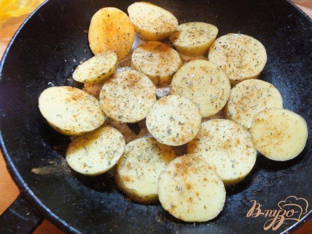 Картофель запеченый с яйцом