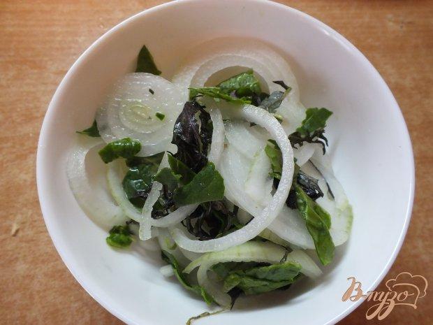 Луковый французский салат