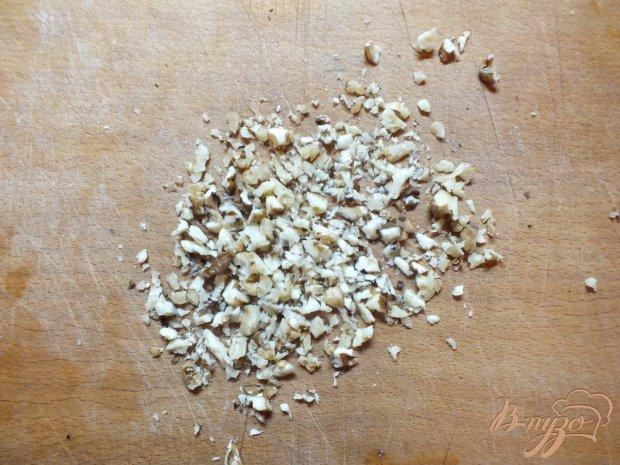 Слоечки с грецким орехом открытые