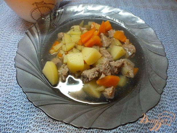 Суп картофельный с говядиной