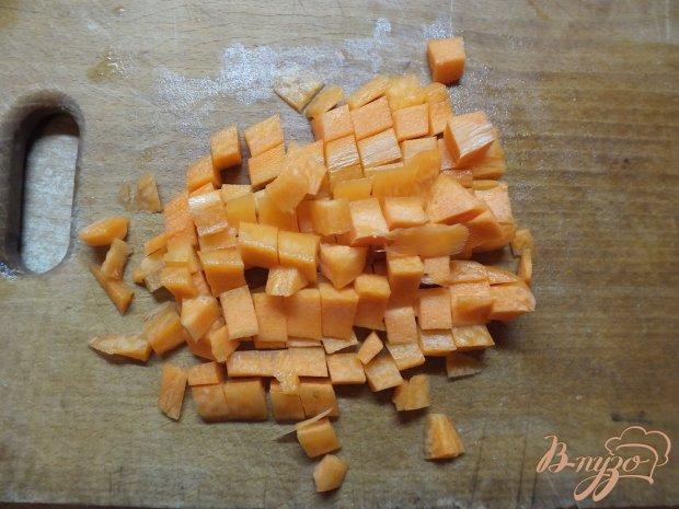 Суп из полу сырых овощей витаминный