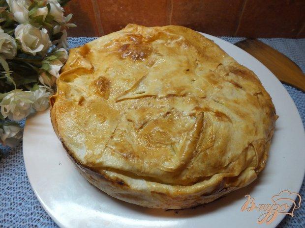 Пирог с картошкой и брынзой ил листового лаваша