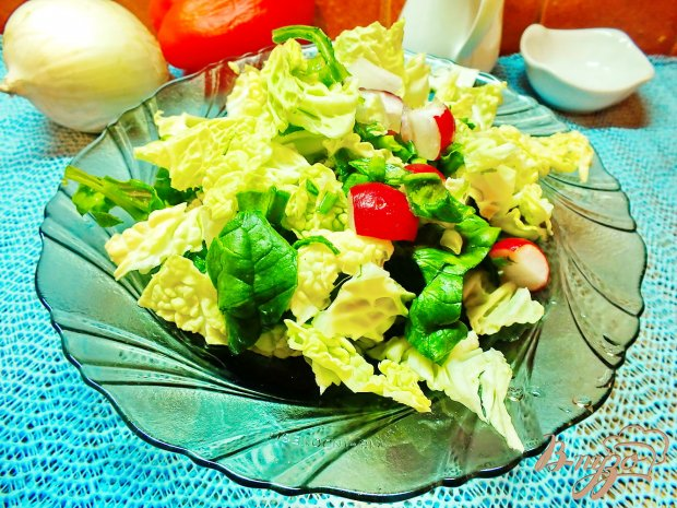 Салат из листовой капусты