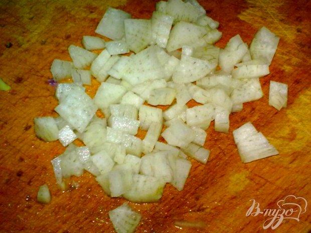 Салат из дайкона и граната