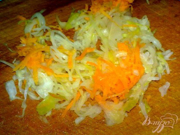 Салат с кальмаром и крабовыми палочками