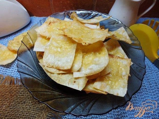 Хрустящий лаваш с сыром
