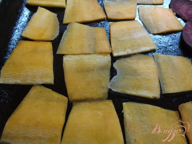Десерт из хрустящей тыквы