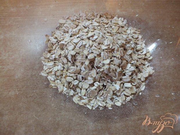 Печенье овсяное с вяленой вишней и корицей