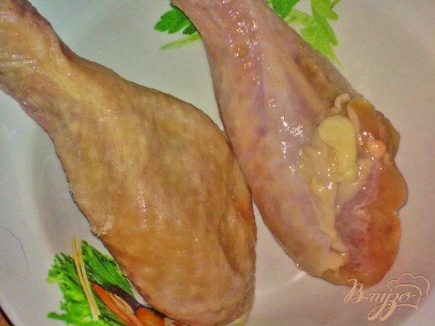Куриные ножки с арахисом на пару