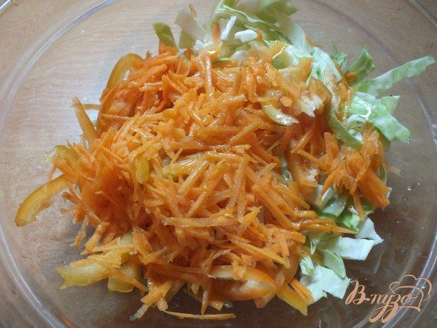 Салат из болгарского перца и моркови