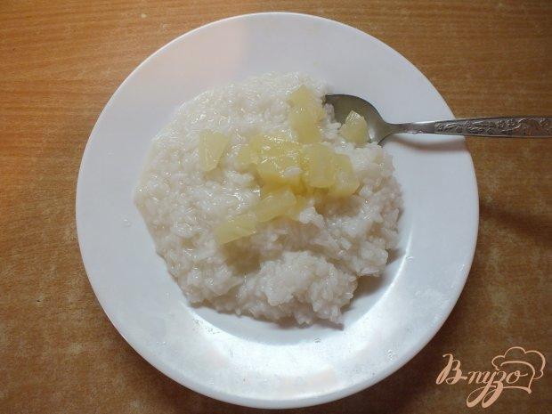 Рис с ананасом и сыром