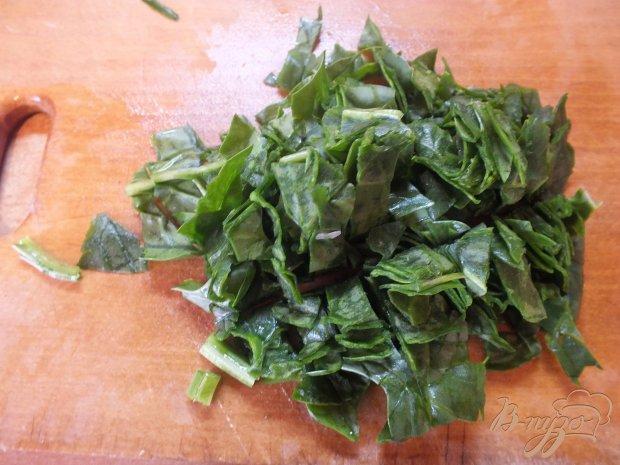 Салат из болгарского перца с луком порей