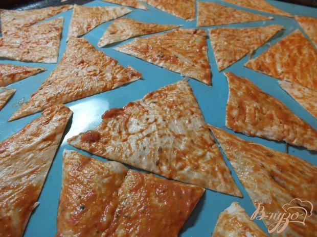 Томатные чипсы с прованскими травами