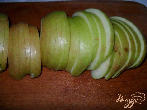"Слойки с яблоками ""Розочки"""