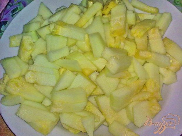 Варенье яблочное с кабачком