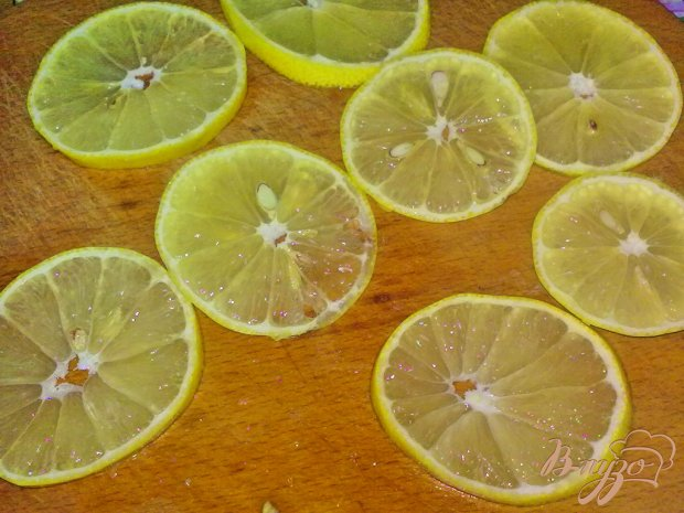 Закуска на лимоне
