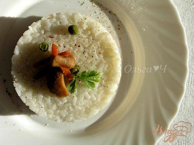 Соте из курицы с овощами и рисом