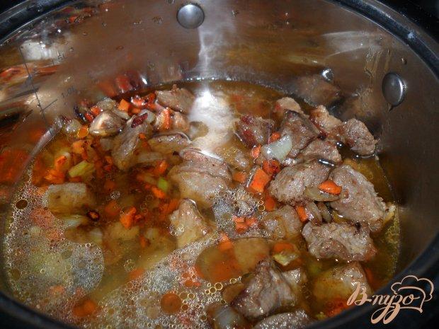 Тушенный картофель с мясом