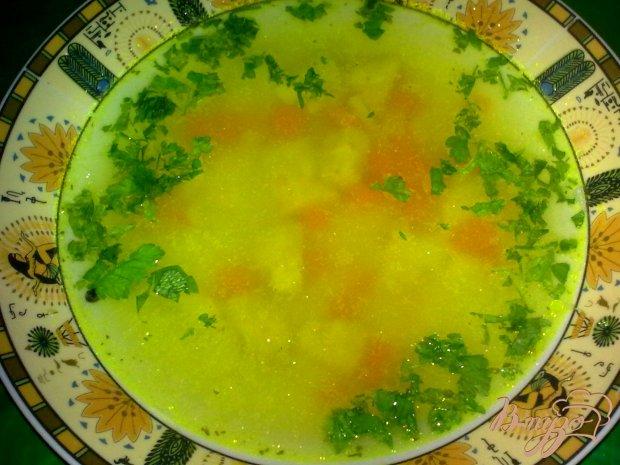 Суп с топинамбуром