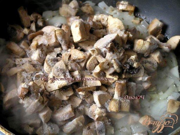 Фальшивые пироги с курицей и грибами