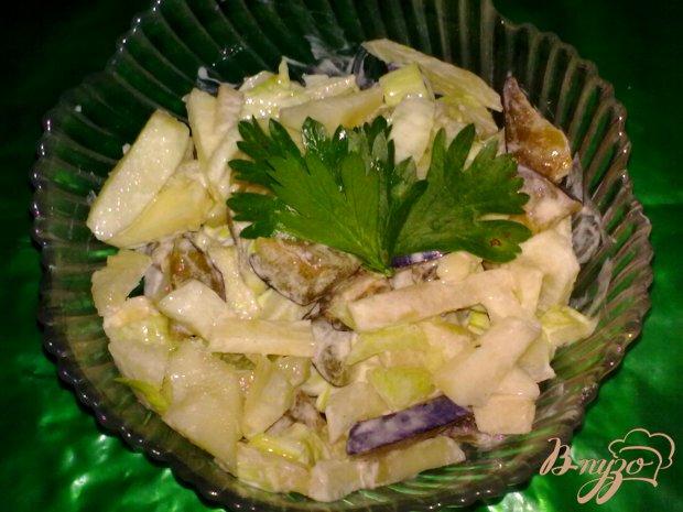 Салат со сливами